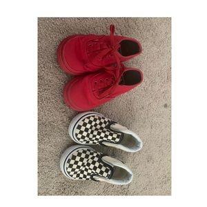Toddler vans bundle